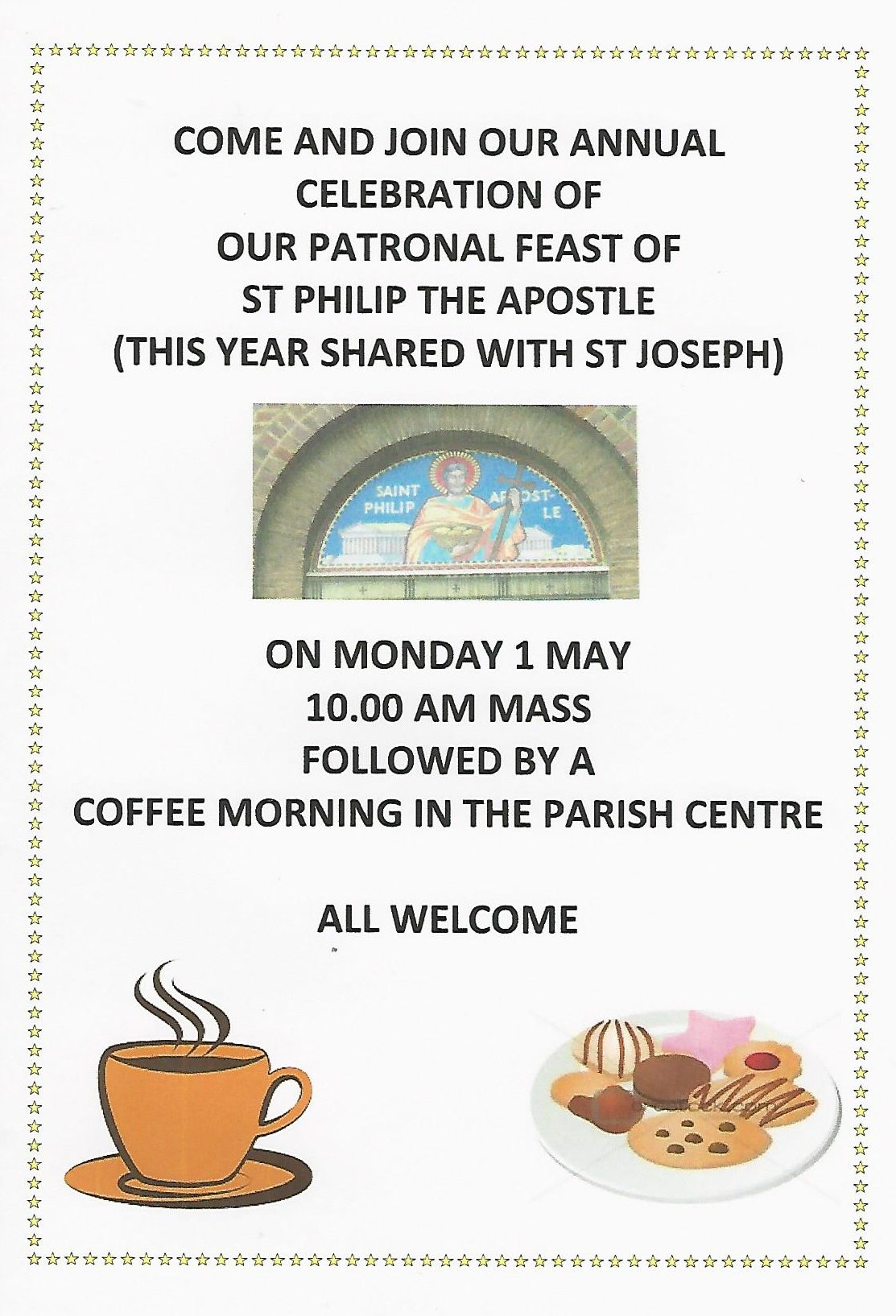 Coffee MOrning May 17